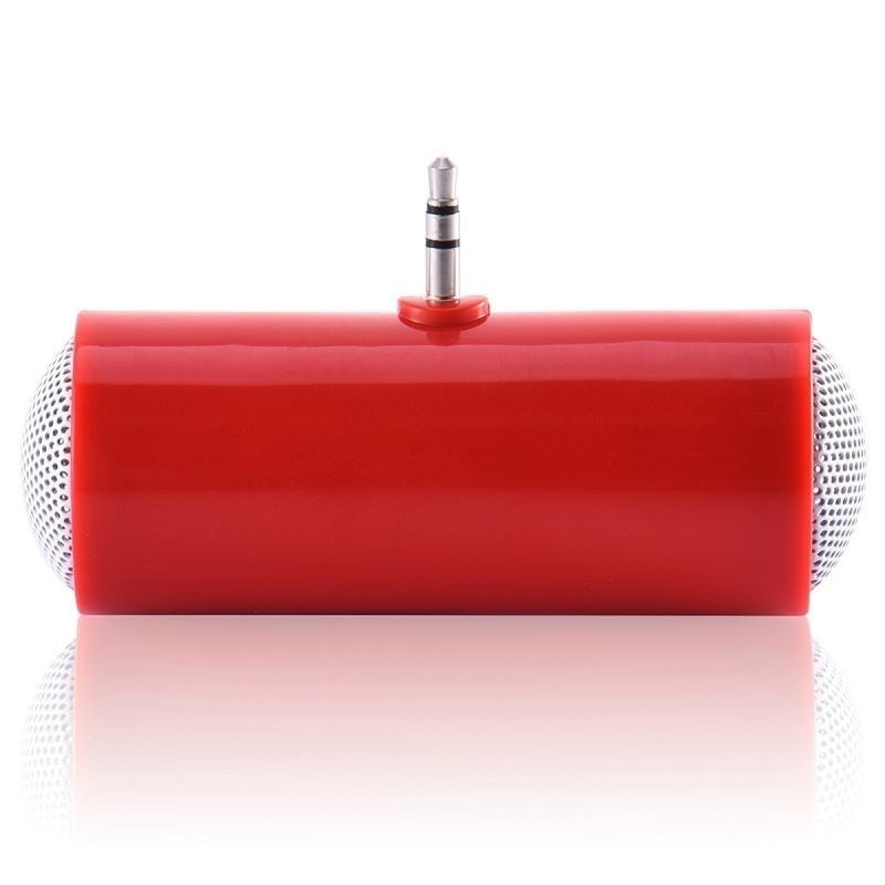 New 3.5mm Direct Insert Stereo Mini Speaker Microphone Portable Speaker MP3 Music Player Loudspeaker for Mobile Phone&Tablet PC