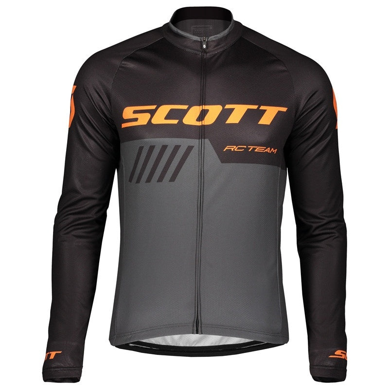 New Hot Sale Pro Cycling Men Long Sleeve Jersey Mountain Bike Jersey Fit Comfortable Sun-protective Road Bike MTB Top Jersey Spring Autumn Jerseys