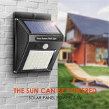 4 Pack LED Solar Lights Outdoor Waterproof Security Night Light Lamp Motion Sensor Light Garden Patio Yard Driveway