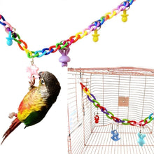 Load image into Gallery viewer, Creative Hanging Toy Cockatiel Bird Toy Swing Cage Birds Cage Toys Climbing Ladder