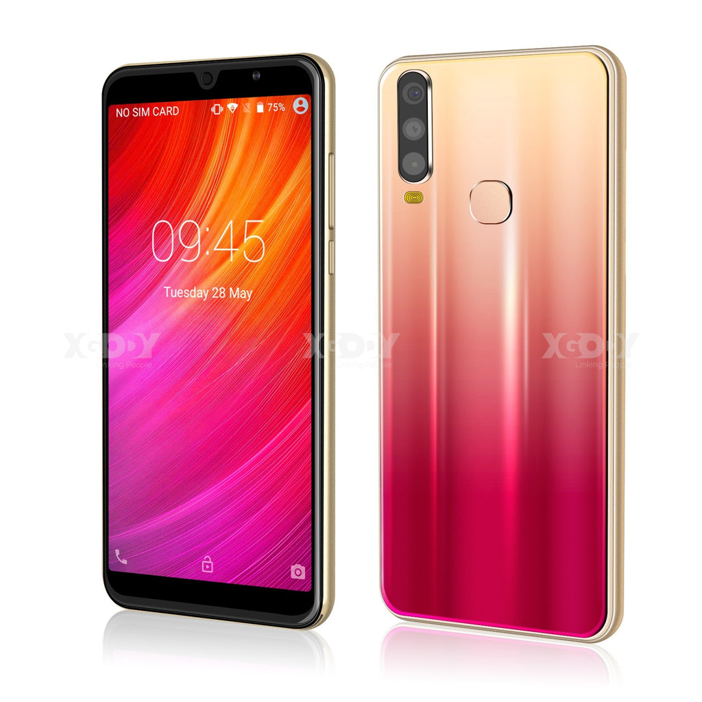 NEW Model A70 6Inch Screen Smartphone Android 8.1 Dual SIM 5.0 MP Camera WiFi GPS for AT&T T-Mobile CellPhone