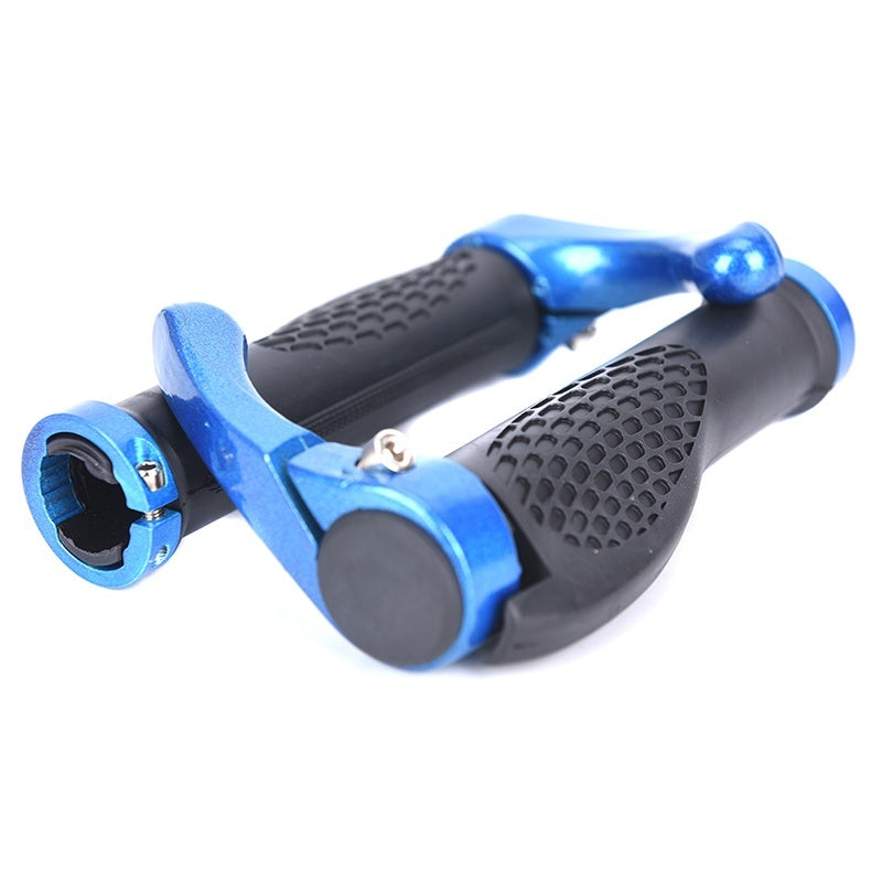 1 Pair Frosted horns Top Carbon Handlebar Road Cycling Mountain Bike Bicycle Lock-on Handlebar Cover