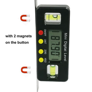 Digital Angle Finder Protractor Electronic Level Digital Inclinometer Angle Measuring Tool Magnets