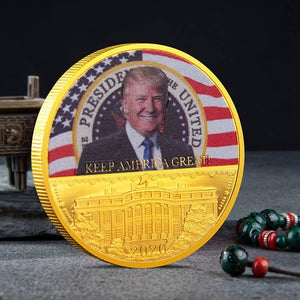 New Donald Trump 2020 Keep America Great Commemorative Challenge Coin Eagle Coins