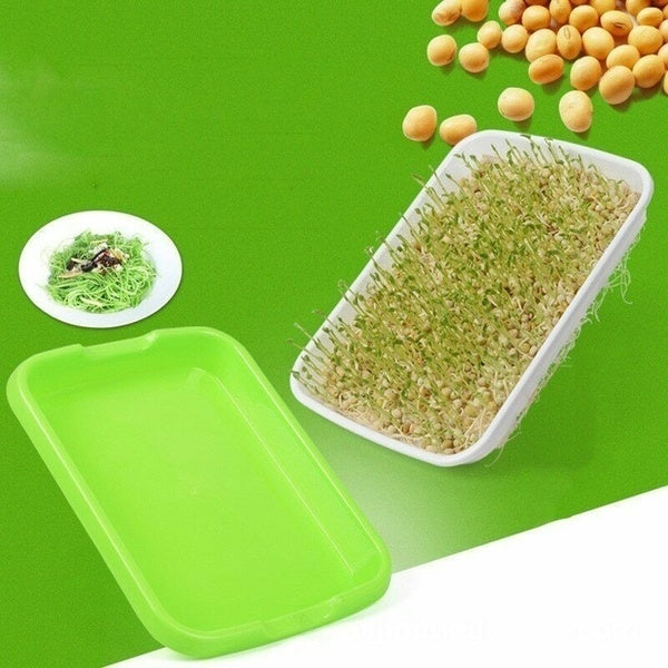 Hydroponics Seed Germination Tray Seedling Tray Sprout Plate Grow Nursery Tray