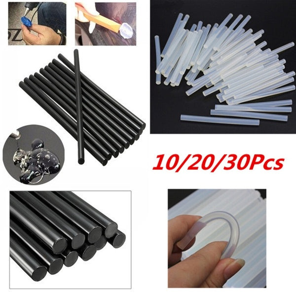 10/20/30Pcs Hot Melt Glue Stick Electric Glue Gun Product Repair Tool Accessories 7mm X 100mm
