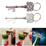 Key Shaped Bottle Opener Keychain shaped Key Ring Beer Bottle Opener Unique Creative Gift
