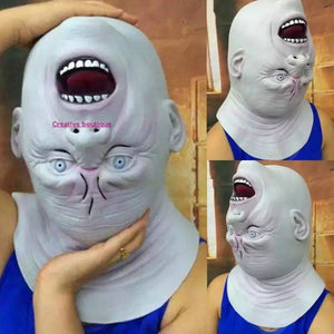 Halloween Latex Mask Terrorist Headgear Haunted House Horror Scary Props
