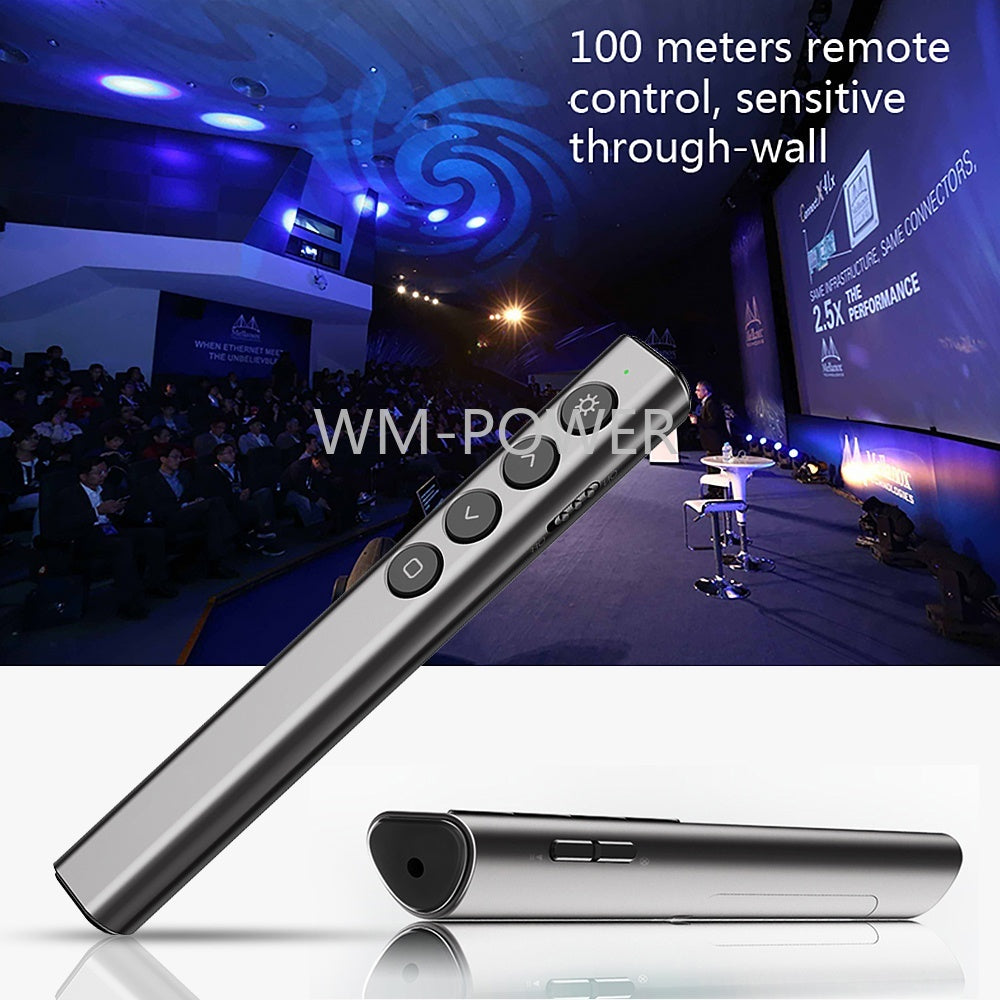 Power Point Presentation Laser Pointer USB Clicker Pen Wireless Remote Control