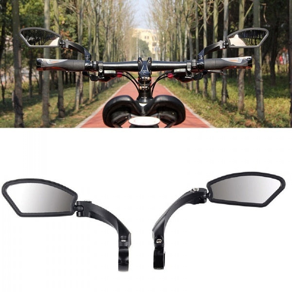 Adjustable Bike Cycling Accessories Handlebar Rearview Bicycle Back Mirror