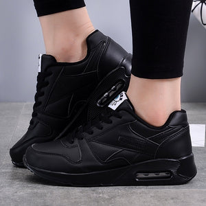 New Women Air Cushion Sneakers Fitness Jogging Sneakers Fashion Sport Running Shoes Plus Size