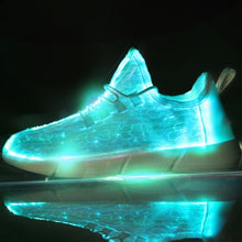 Load image into Gallery viewer, Luminous Shoes New Led Fiber Optic Shoes for Girls Boys Men Women USB Recharge Glowing Sneakers Man Light Up Shoes Performance Props Disco HIP HOP Special Shoes 25-47