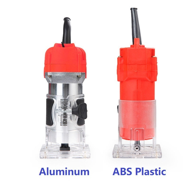 35000RPM 1500/2500W Aluminum/ABS Plastic Electric Wood Trimmer Grinder Milling Trimmer Cutter Polishing Woodworking DIY Tool EU/AU/US/UK Plug
