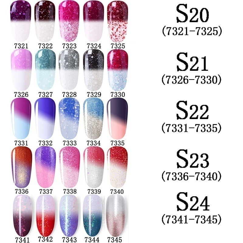 Gel Nail Polish Set Acrylic Nail Kit 2/3/4/5/6PCS/LOT Soak Off Hybrid Lacquer Vernis Semi Permanen Gellak Varnish Set For Manicured