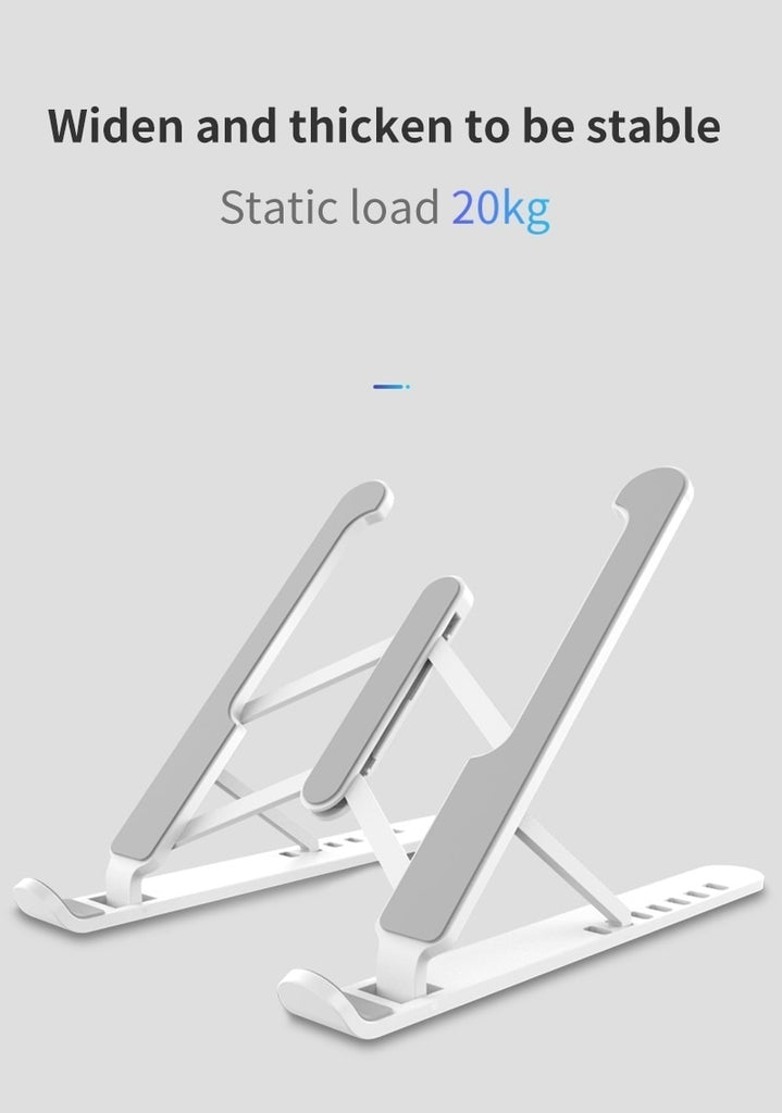2020 Adjustable Foldable Laptop Stand Non-slip Desktop Notebook Holder Laptop Stand For Macbook Pro Air iPad Pro
