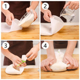 Silicone Homemade Kneading Bag Blender Bag Dough Pastry Noodle Bag Mixer Pastry Non-stick DIY