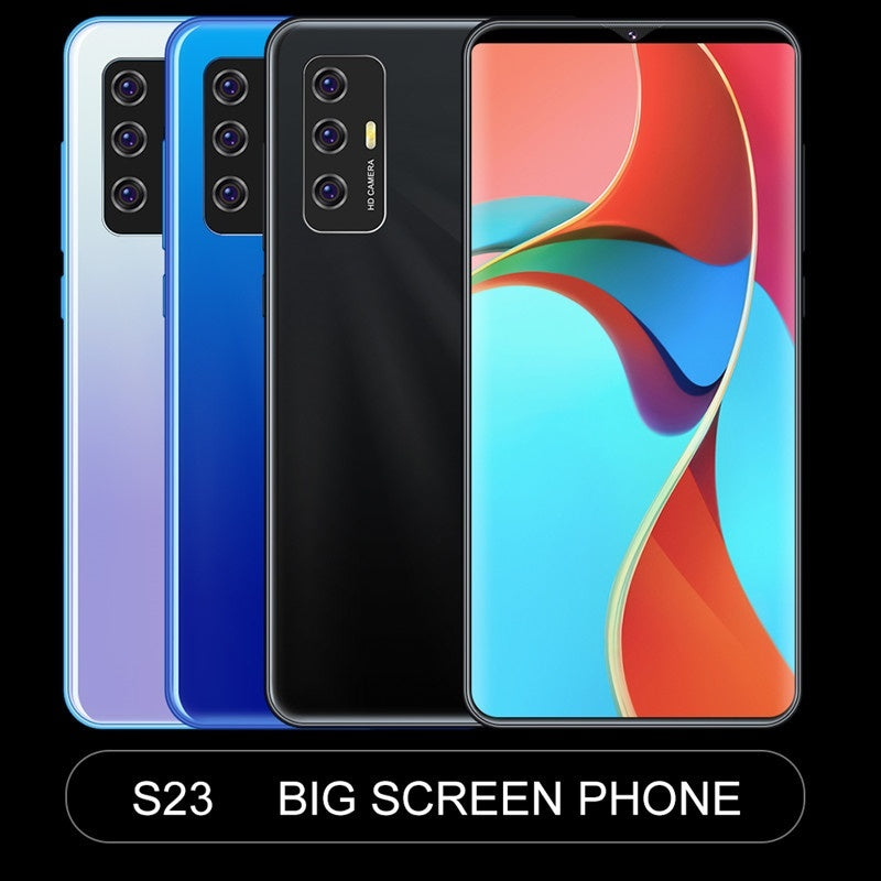 Smartphone with 3G/4G /5G Network 6.1inch RAM 3GB ROM 32GB Large Memory 10 Core Android 10.0 System with Face Recognition Fingerprint Unlock Smart Mobile Phone