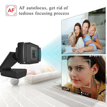 Load image into Gallery viewer, 1080P Rotatable USB2.0 Webcam PC Network Live Camera Video Recording with Mic