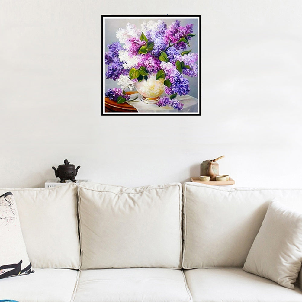 DIY 5D Diamond Painting Rose Flowers Landscape Cross Stitch Kits Embroidery Home Wall Decor
