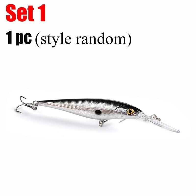 6 Multi Jointed Swimbait Sinking Wobblers Fishing Lures 10cm 17.5g