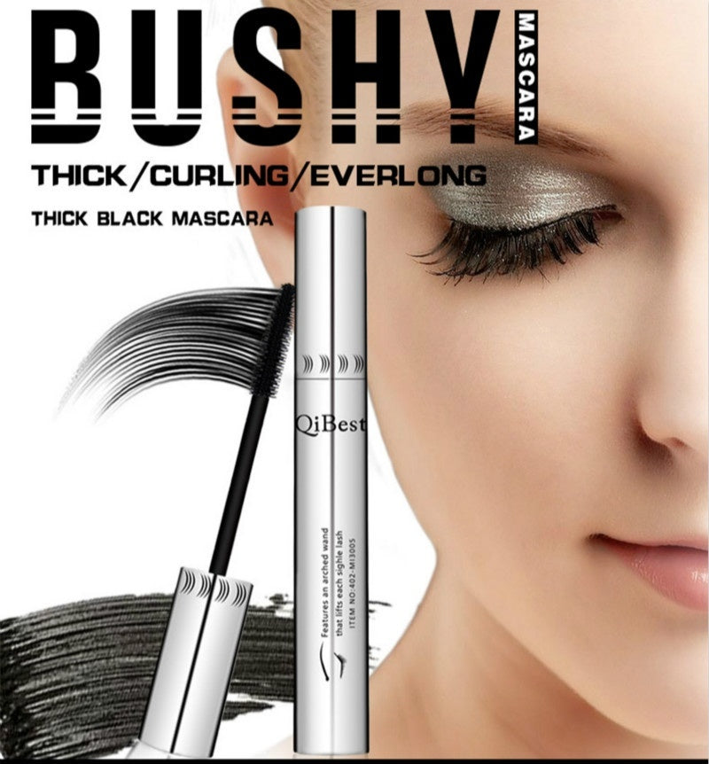 Black Mascara Eyelashes Makeup 4D Silky Eyelashes Lengthening Eye Cosmetics Eyelashes Makeup Professional Waterproof Mascara Volume