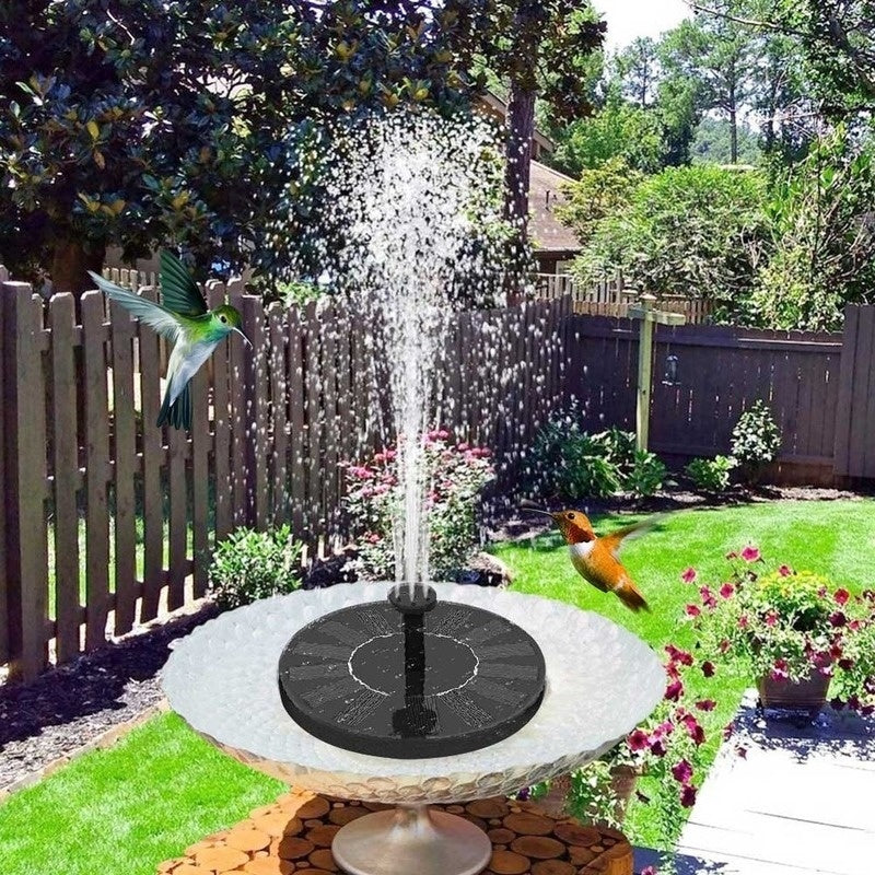 180L/H Solar Fountain Pump Kit 1.4W Floating Solar Water Pump Bird Bath Fountain For Garden Pond Yard Decoration