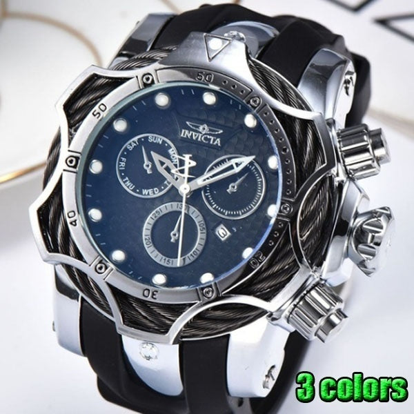 2021 New INVICTAER Men's Luxury Brand Quartz Tape Men's Watch