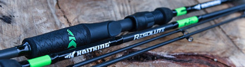 KastKing Resolute rods with American Tackle guides.