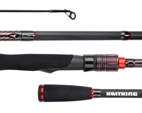 KastKing Royale Select casting rods and spinning rods