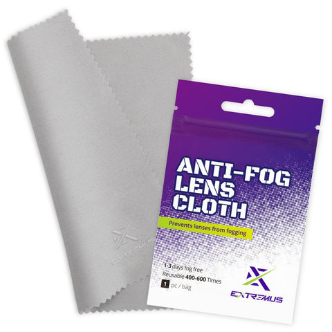 Extremus Anti-Fog Lens Reusable Cleaning Cloth