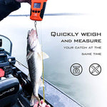 KastKing Water Resistant Digital Fishing Scale with Ruler