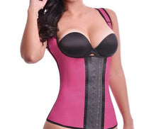 Load image into Gallery viewer, Latex Vest Waist 3 Hooks !