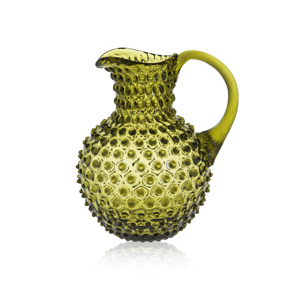 Bonsai Green hobnail pitcher by KLIMCHI