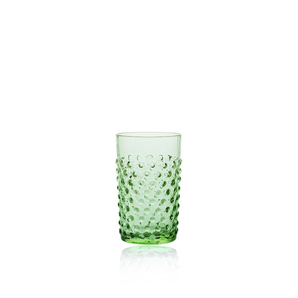 Light Green Hobnail Tumbler (set of 6 pieces)