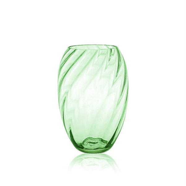 Light Green Marika Vase tall by KLIMCHI
