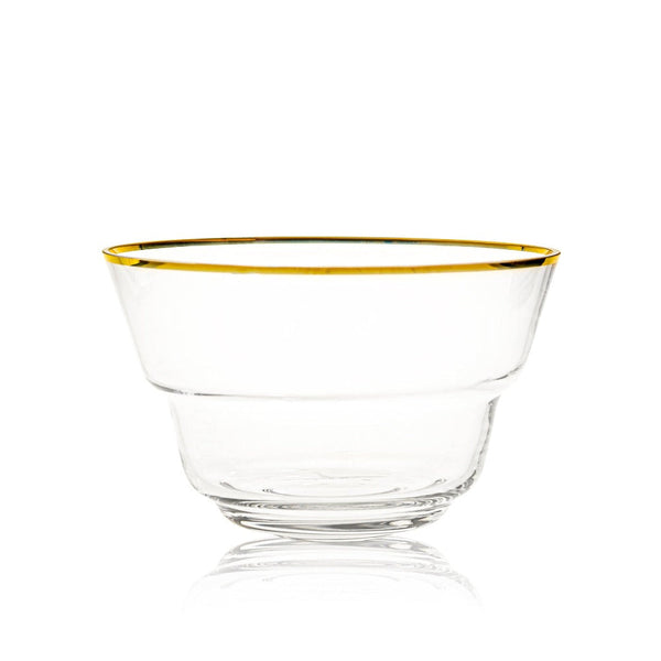 Large Golden Lux Bowl from Shadows collection by KLIMCHI