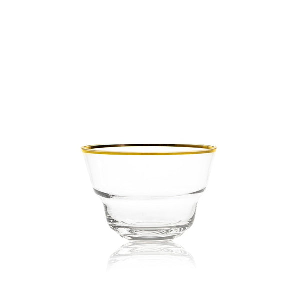 Medium Bowl in Golden Lux from Shadows by KLIMCHI