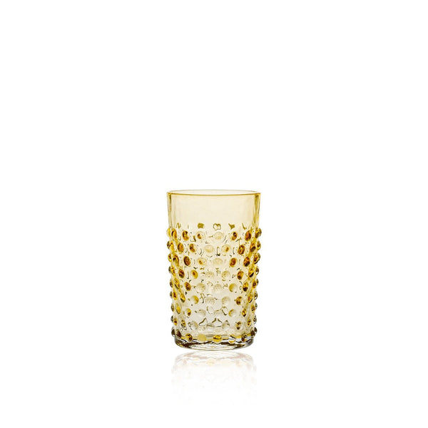 Underlay Amber Hobnail Tumbler (set of 6 pieces)