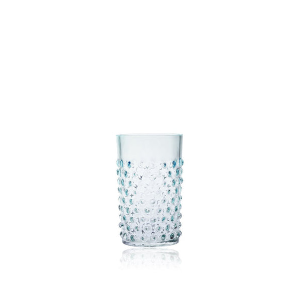 Underlay Azure Hobnail Tumbler (set of 6 pieces)