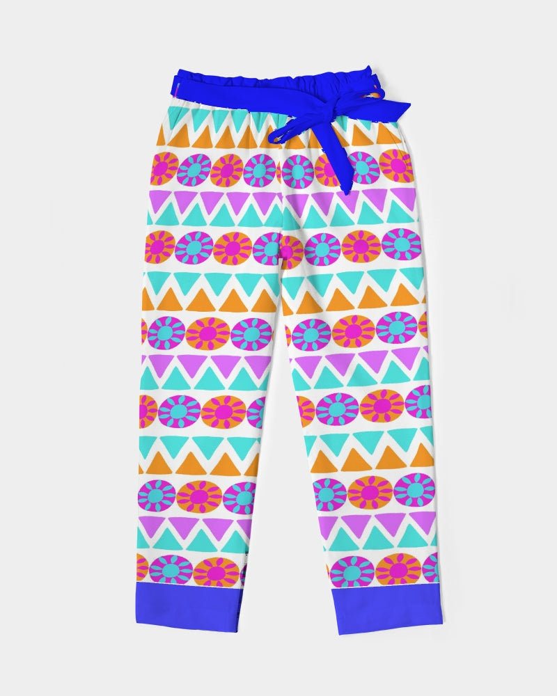 Quirky Tribal - Women's Belted Tapered Pants