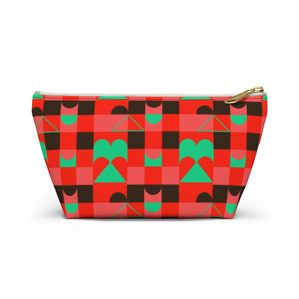 Twist Checkers - Accessory Pouch w T-bottom