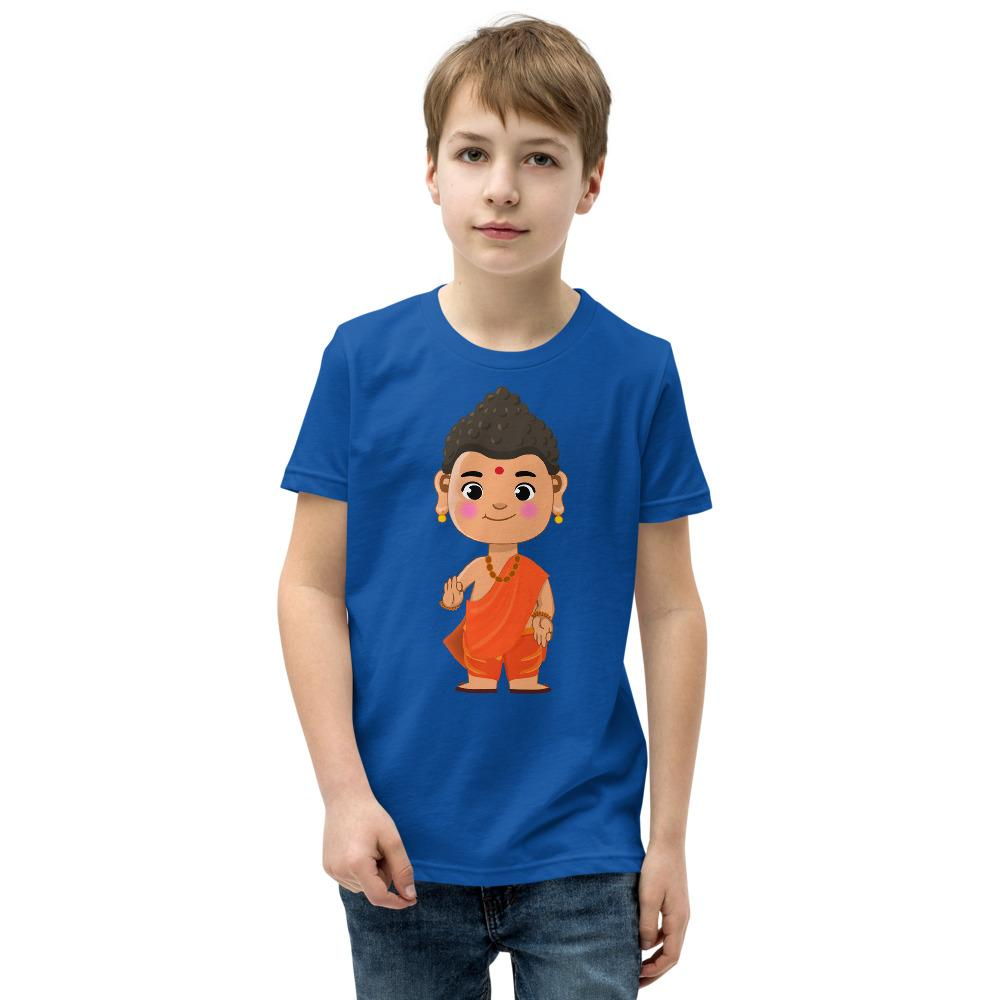 Li'l Buddha - Cute Youth Unisex Short Sleeve T-Shirt - miliandme