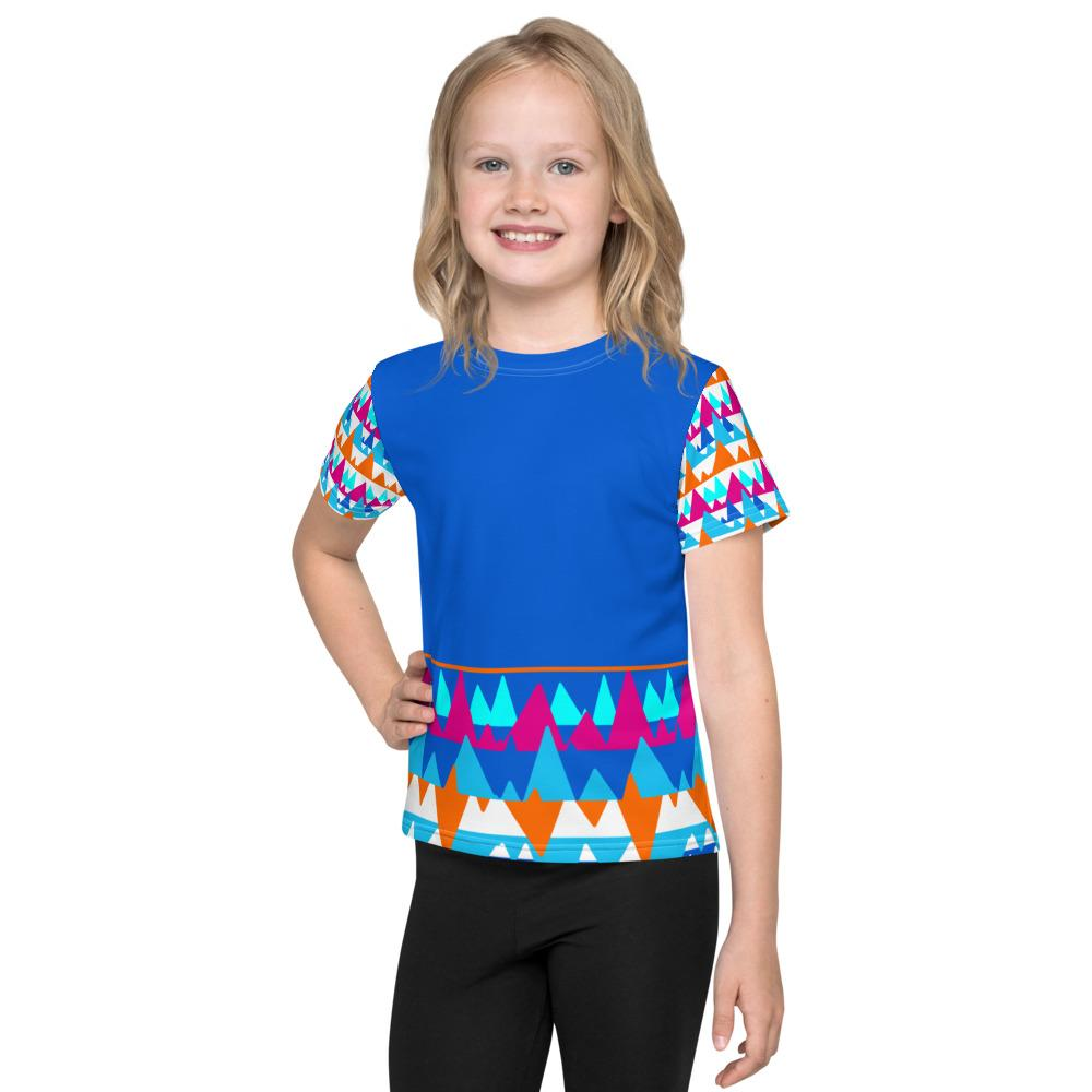 Zig-Zag Mountain - Kids All Over T-Shirt - miliandme