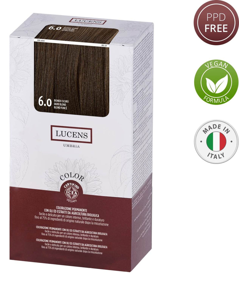 Lucens Color Dark Blonde 6.0 - Made in Italy