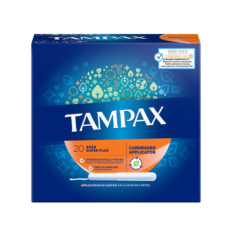 Tampax Tampons Super Plus with Applicator (20)