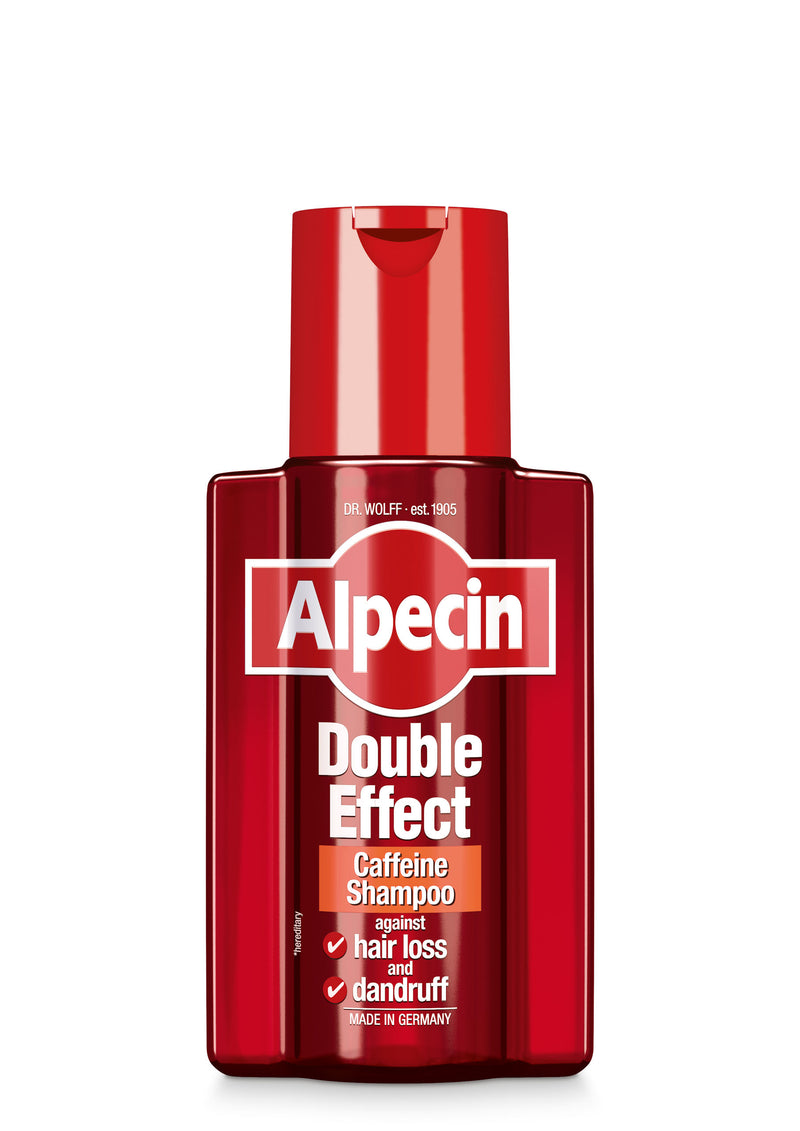 Alpecin Double Effect Caffeine Shampoo Against Hair Loss & Dandruff 200ml