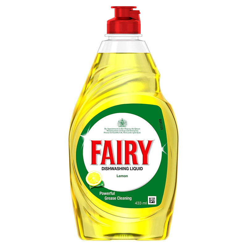 Fairy Dish Wash Liquid - 433 ml (Lemon)