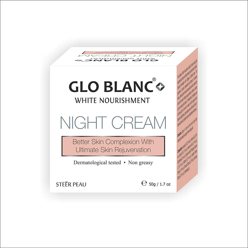 Glo Blanc White Nourishment Night Cream 50g