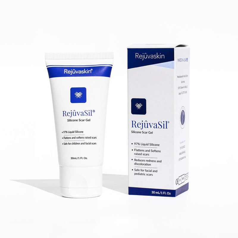 Rejuvaskin RejuvaSil Silicone Scar Gel – Improves the Appearance of Scars 30ml