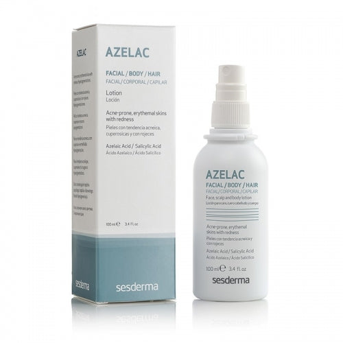 Sesderma Azelac Lotion for Body and Scalp Acne